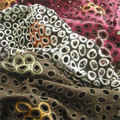 French Eyelet Embroidery Image 1