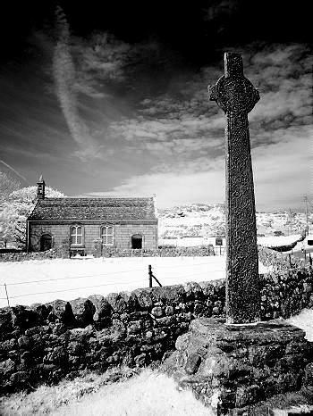 McLean Cross on the Isle of Iona, Scotland.  Favorite mystical site - photo by Steve Deger