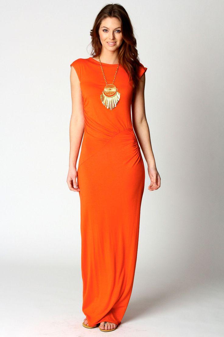 orange-maxi-dress-with-sleeves