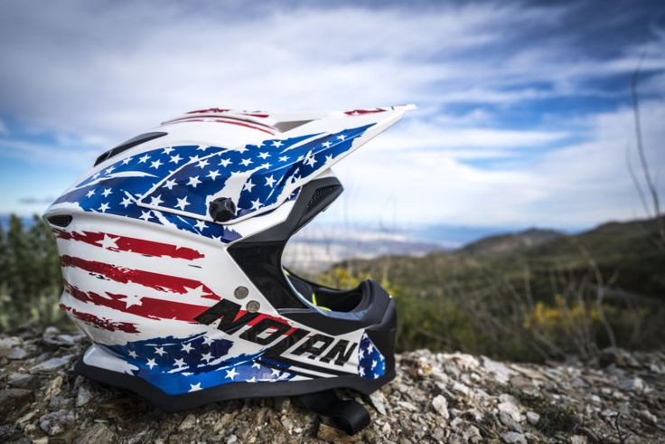 Nolan Helmets originated in Italy in 1973, making some of the safest helmets that exceed DOT helmet standards. They look pretty cool as well....