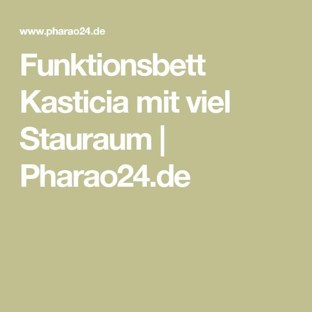 Funktionsbett Kasticia mit viel Stauraum | Pharao24.de