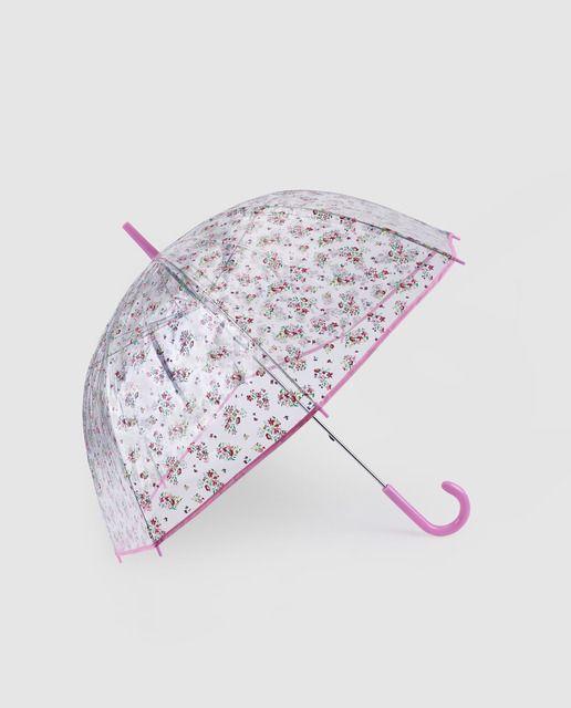 Paraguas transparente de niña Accesories Collection con flores · Accesories  Collection · Moda · El Corte d1eeef98171