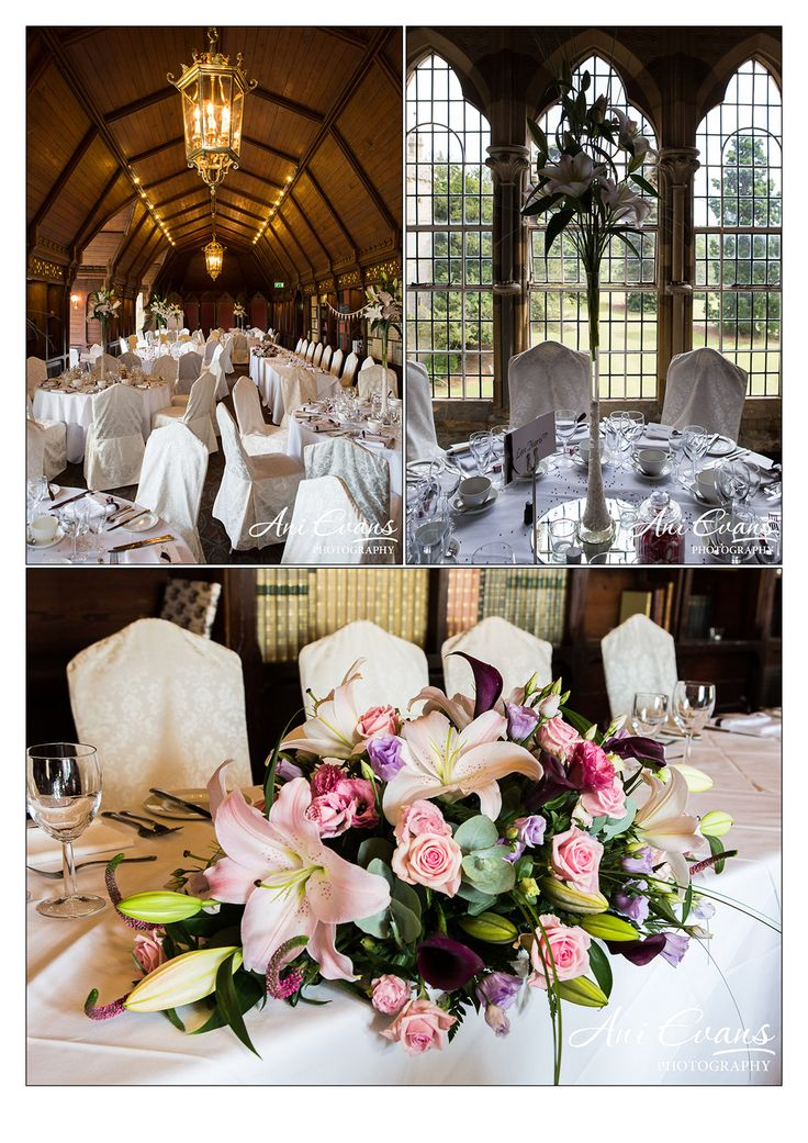 Ettington Park Wedding Long Gallery