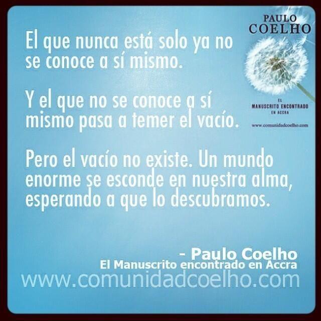 La #Soledad, en el #ManuscritodeAccra de @Paulo Fernandes Fernandes Fernandes Coelho - Más, en www.comunidadcoelho.com