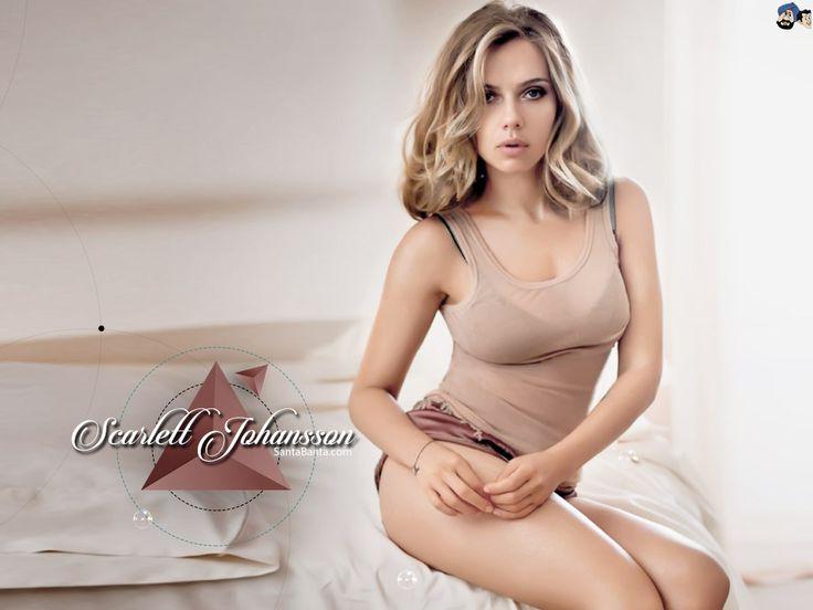 Scarlett Johansson is a Peach | www.celebritypeach.com