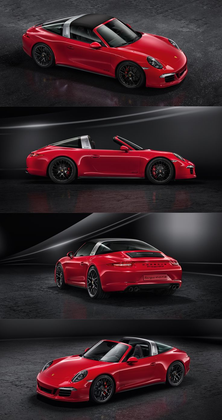 Porsche 911 Targa 4 GTS. Combined fuel consumption in accordance with EU-5: 10-9,2 l/100 km, CO2 emissions 237-214 g/km.