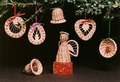 Pine Needle Christmas Ornaments