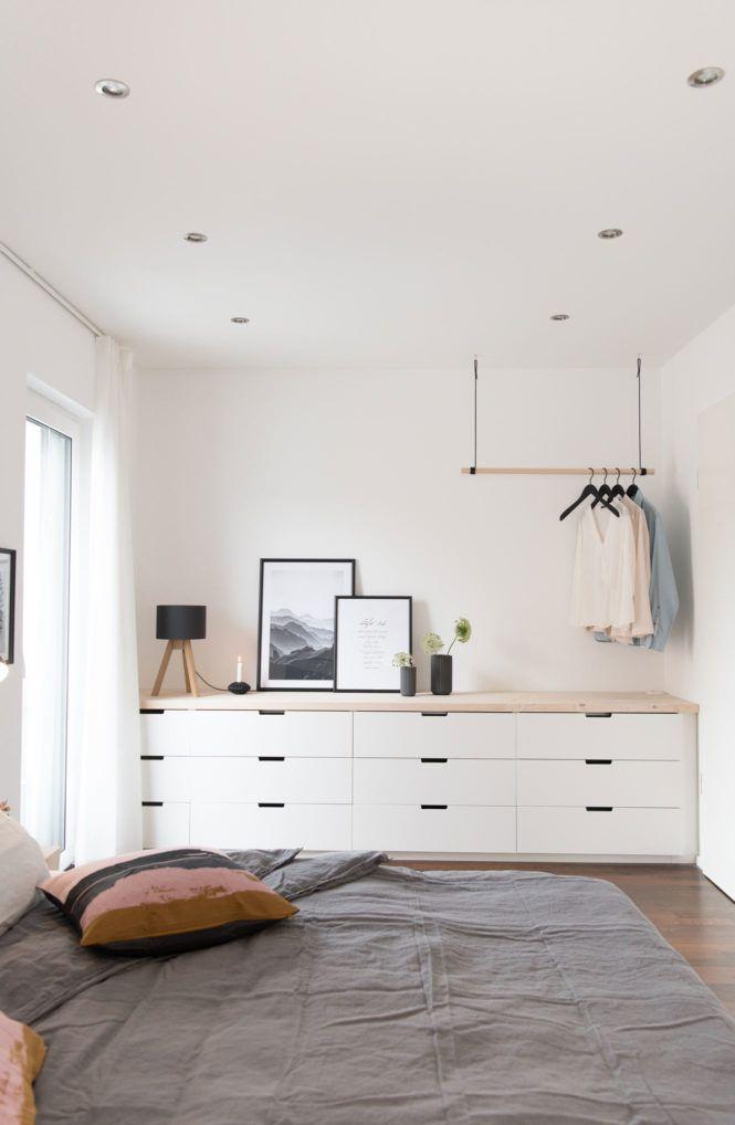 Kissen, Kerzen und neue Bettwäsche… unser Schlafzimmer