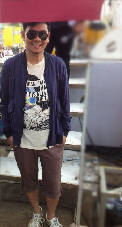 (X)S.M.L Tees and Jacket for Indra Bekti