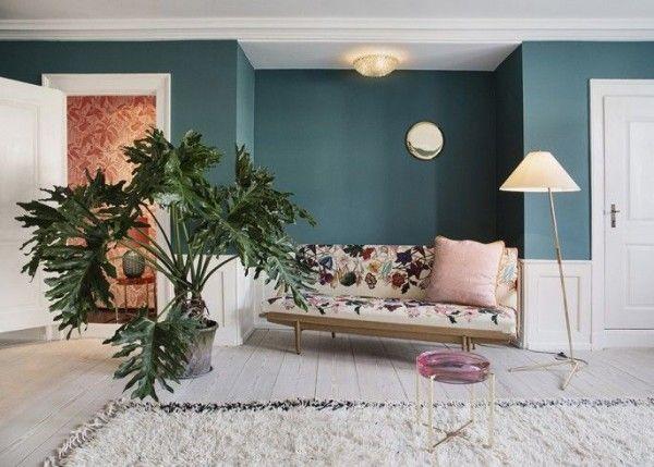 17 Best ideas about Salon Bleu Canard on Pinterest | Couleur bleu ...