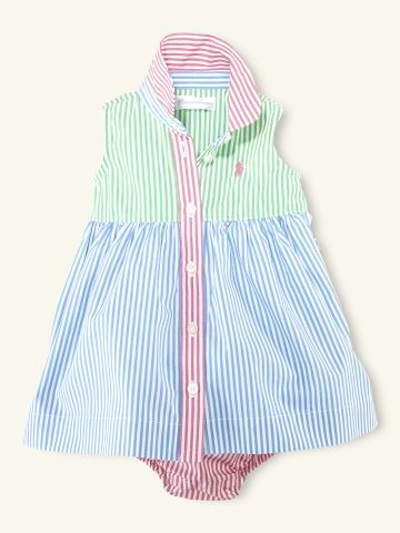 Bengal Shirtdress - Layette Dresses & Rompers - RalphLauren.com...$39.99