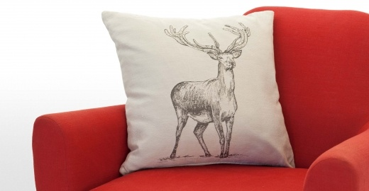 Stag pillow by Made.com