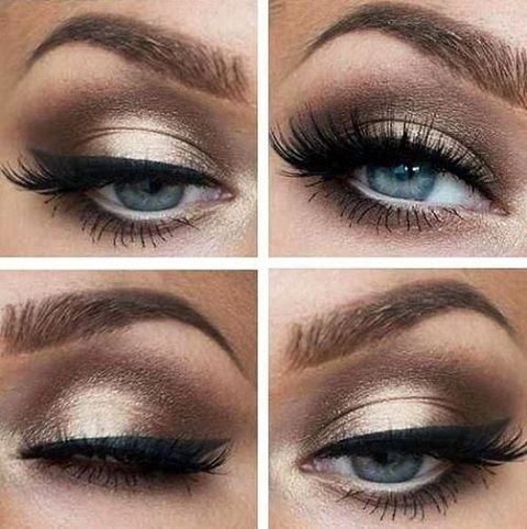 #loveit #blueeyes #eyemakeup #inspiration #lovely