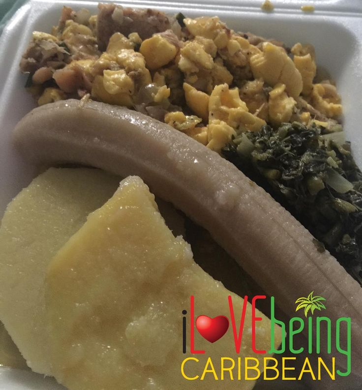What are you having for breakfast?  Who wants some?  PS: Send us images of your food and let us know if you prepared or purchased it. Email us at ilovebeingcaribbean@gmail.com and we will highlight you across our social media outlets.  #aYahSoNice  #GoodEats  #Dumplings  #Yams  #Figs  #Calalloo  #AckeeAndSaltfish  #JamaicanFood  #CaribbeanFood  #iLBC  #iLOVEbeingCaribbean by ilovebeingcaribbean