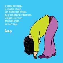 PeuterYoga workshop kinder yoga