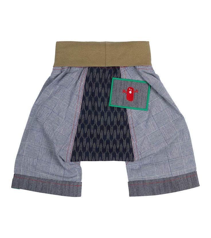 Reflections Short, Oishi-m Clothing for kids, Summer  2017, www.oishi-m.com