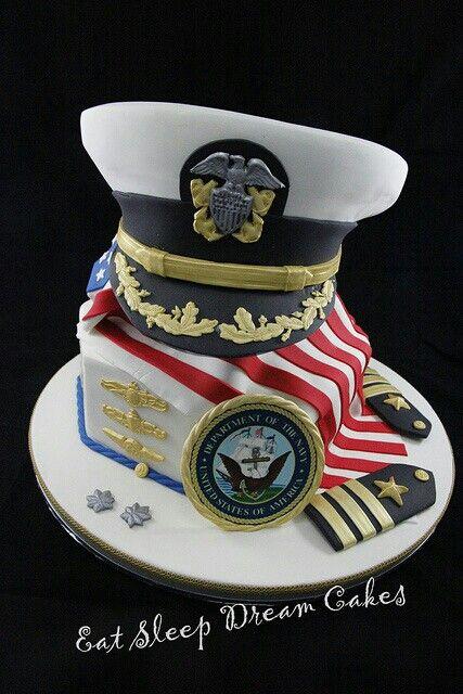♥ this Navy cake!  :)