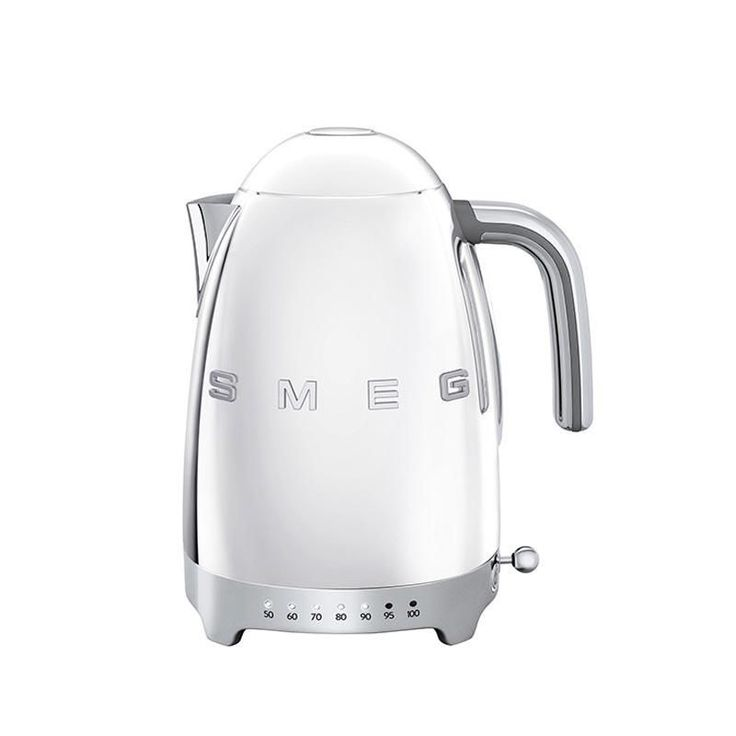 Smeg - SMEG KLF02 Kettle Variable Temperature - chrome/lacquered/integrated heating element/7 temperature levels
