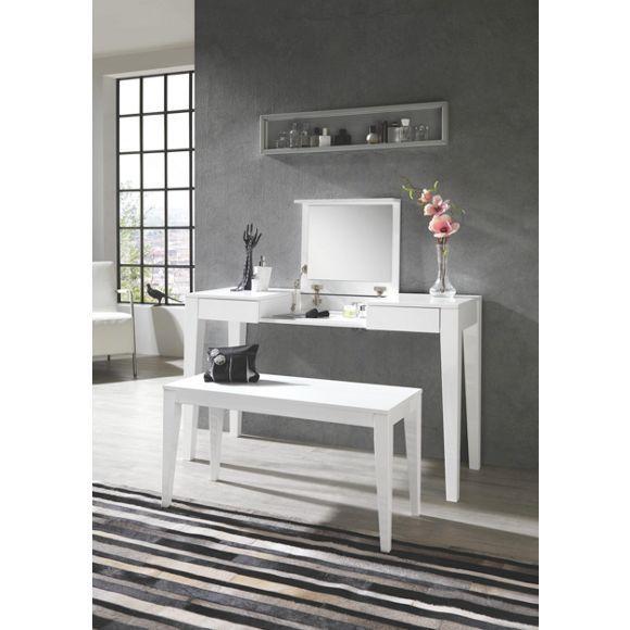 schminktisch in wei wohnaccessoires pinterest schminktische spiegel und praktisch. Black Bedroom Furniture Sets. Home Design Ideas