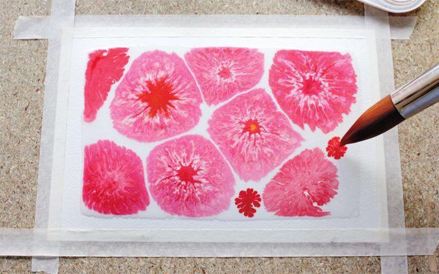 Sokeriakvarellimaalaus on kirjaimellisesti makea tekniikka, joka sopii niin lapsille kuin aikuisillekin. Työt ovat lumoavan kauniita ja helppoja tehdä.