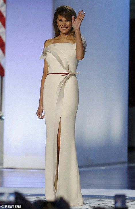 First lady Melania Trump and first daughter Ivanka Trump upped their style stakes after both making flawless entrances at the first of three inaugural balls in Washington on Friday night.
