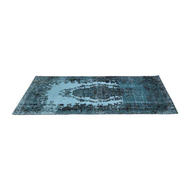 Tapis Kelim Pop turquoise 200x300cm Kare Design KARE DESIGN