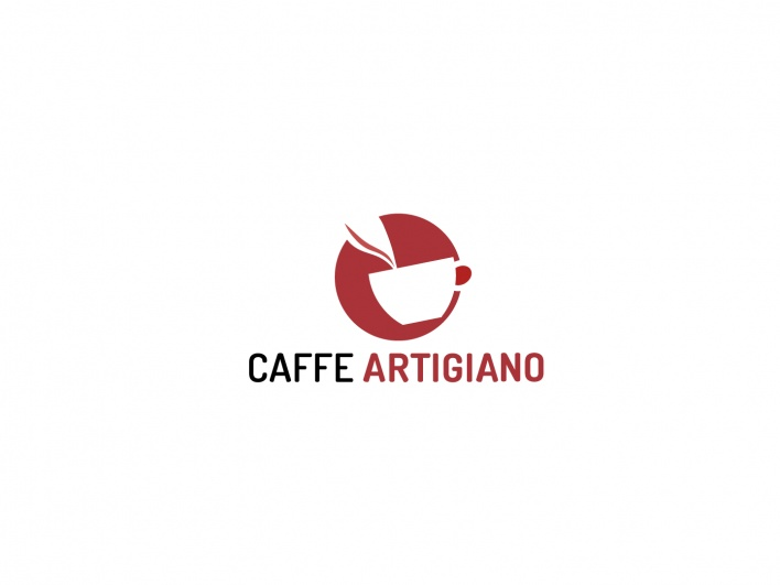 """Caffe Artigiano"" by Richel Tong: Bronze Winner (Student) - Logo Design Category - Monthly Design Award March 2013"