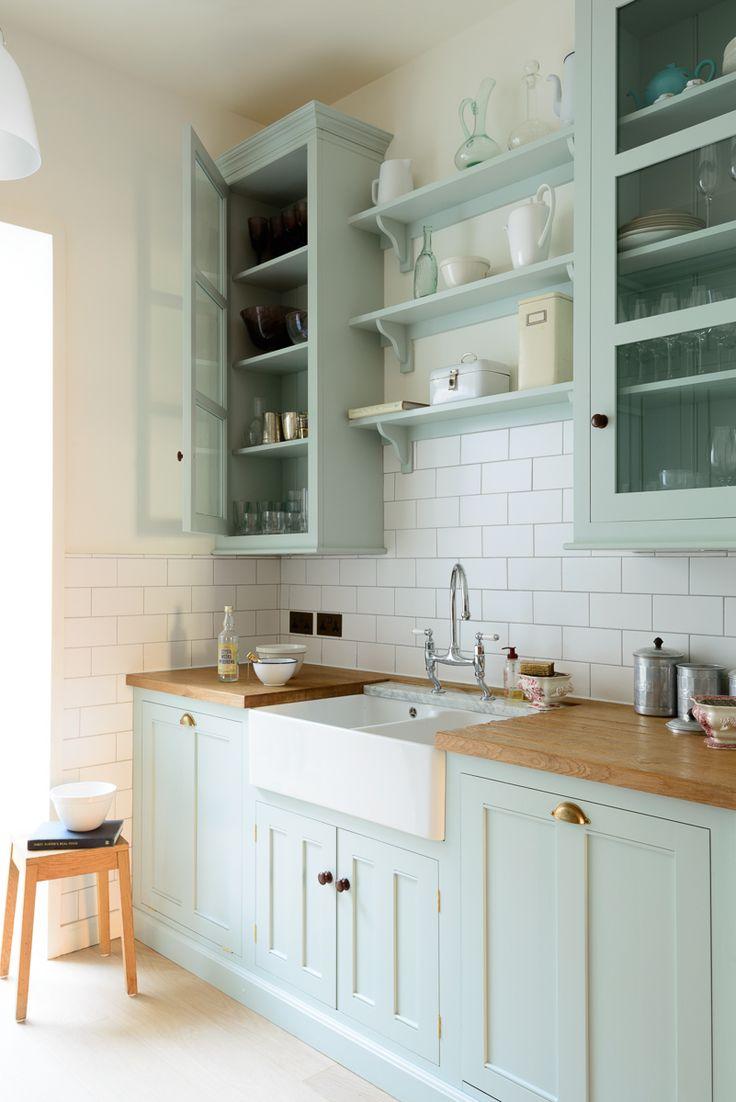 The beautiful and brand new Pimlico Classic English Kitchen by deVOL