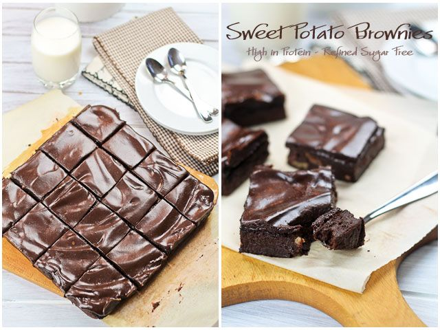 Deliciously Healthy Sweet Potato Brownies | by Sonia! The Healthy Foodie