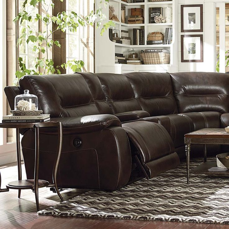 Motion Sectional by Bassett Furniture : dillon motion sectional - Sectionals, Sofas & Couches