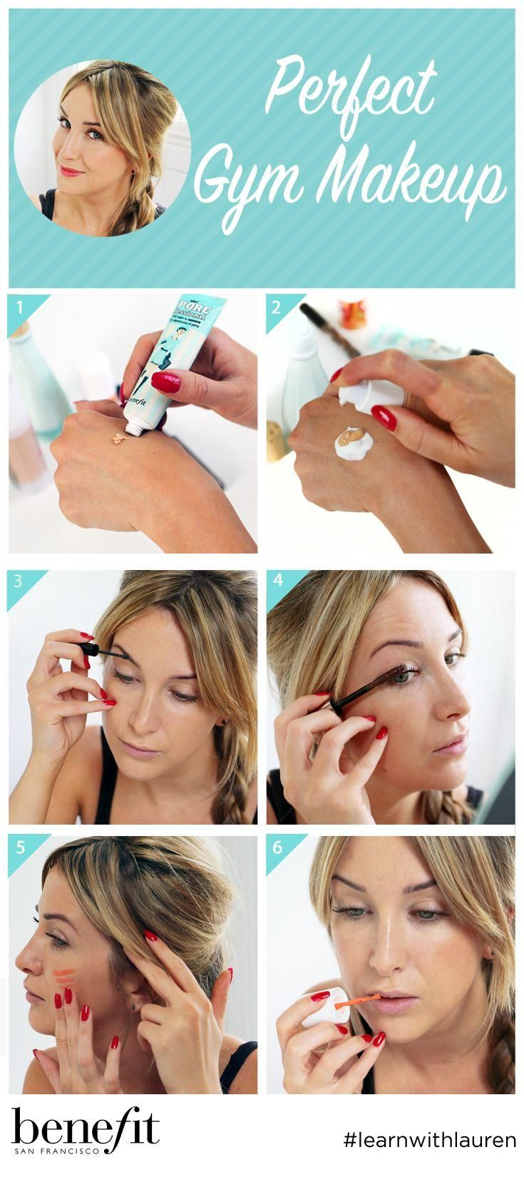 How to exercise proof your makeup routine gym choices and makeup baditri Images