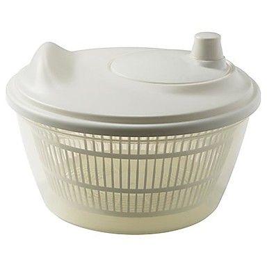 salada giratório de plástico de polipropileno branco, 23x23x14cm – BRL R$ 76,16