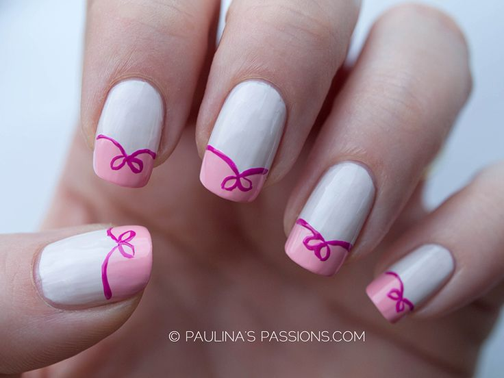 197 best breast cancer awareness nail art images on pinterest cute bow nail art for breast cancer awareness check out thepolishobsessed for prinsesfo Gallery