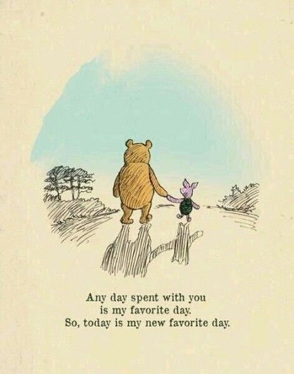 My favorite day. - 13 x de beste quotes van Winnie de Poeh - Nieuws - Lifestyle