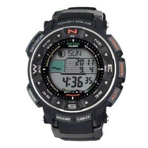 Casio Men's PRW2500-1 Pathfinder Triple Sensor Tough Solar Digital Multi-Funtion Pathfinder Watch