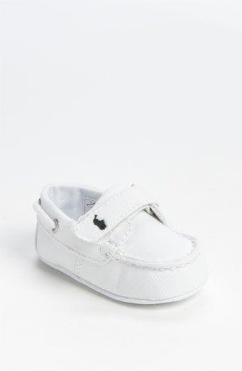 Ralph Lauren Layette Boat Shoe (Baby)