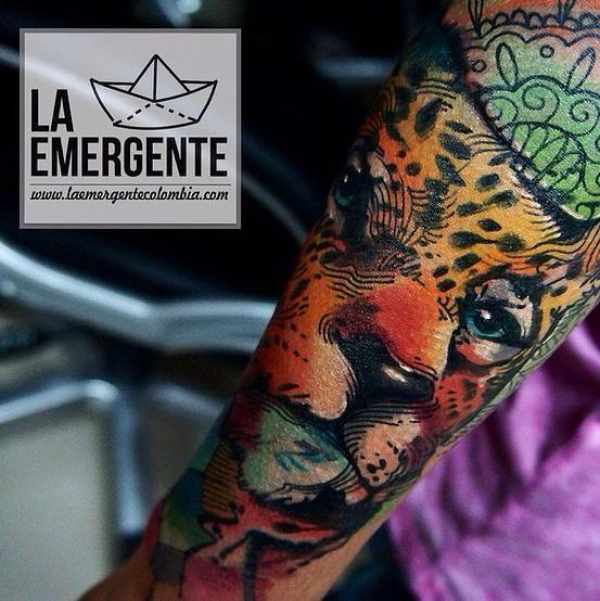 laemergente | TATUAJES | Tattoos | leopard tattoo