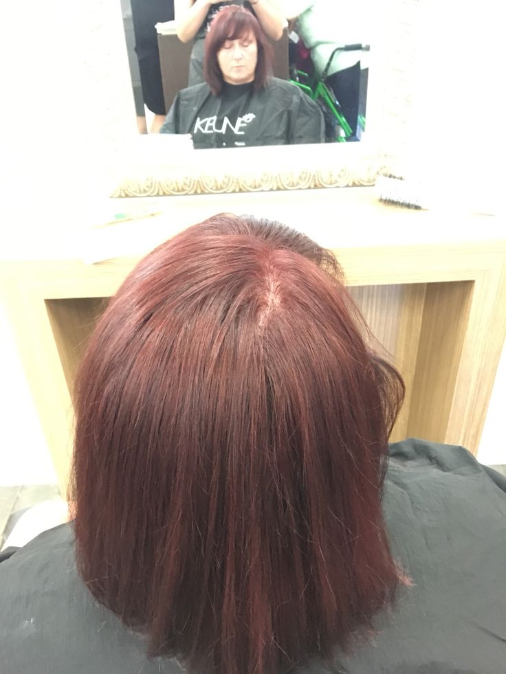 Regrowth colour