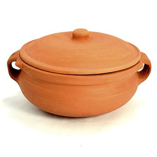 Clay Curry Pot - Extra Large - 10 Inch Ancient Cookware https://www.amazon.com/dp/B00N6XJ4LY/ref=cm_sw_r_pi_dp_YctHxb5QG5GMA