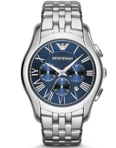 Emporio Armani Valente Blue Dial Watch AR1787 Campbell Jewellers Dublin Ireland