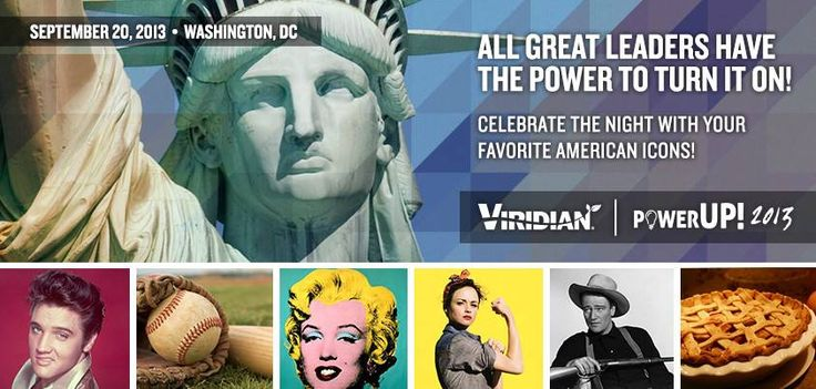 All great leader have the power! Let's all celebrate our favorites at the American Icon Theme Party on Friday night at #PowerUP!