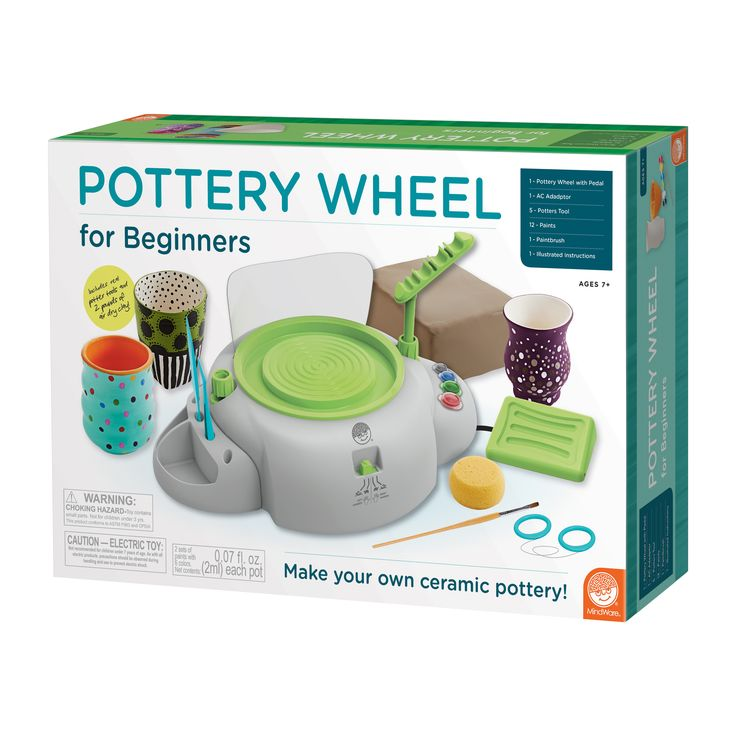 Briarpatch MindWare Beginners Pottery Wheel
