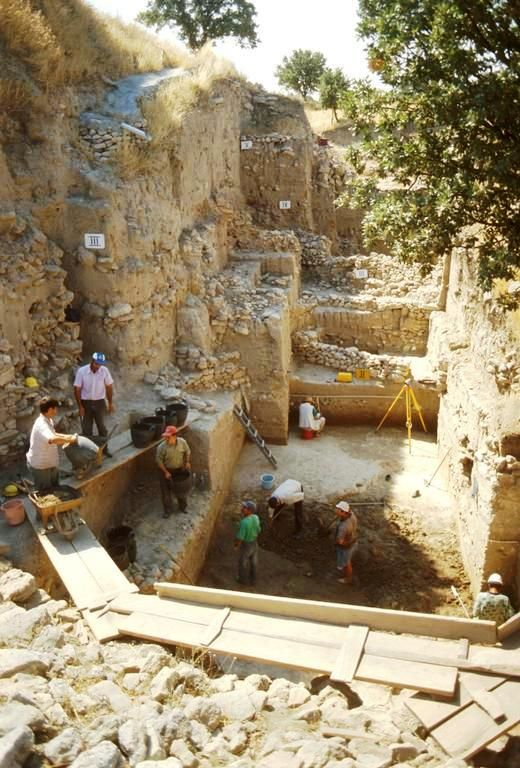 Old City of Troy. A dig site | OUR STOLEN GOLD by Russia ...