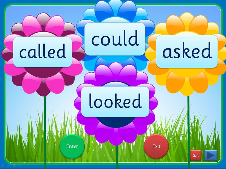 An interactive PowerPoint, linked to Letters and Sounds (Phase 5), that can be worked through at your own pace. Each slide has up to four high frequency words included and they can be viewed individually. The words enter as flower centres and can exit once viewed. This presentation could be used for small groups and individual children in addition to whole class teaching. The Comic Sans activity is editable while the others use an embedded font (Sassoon Infant)