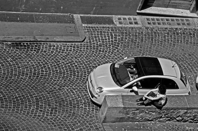The little Italian car