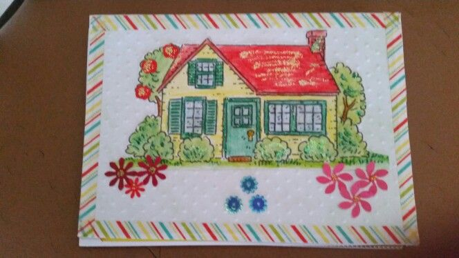 House warming card