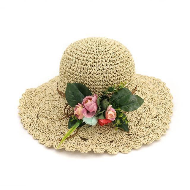b1c71b20 Flower Crochet Hat #fashionista #hats #fashion #itemoftheday #trend ...