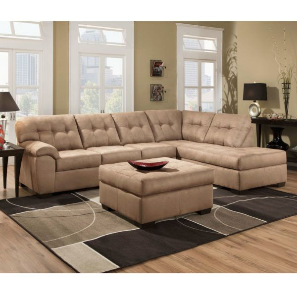 Simmons 9558SEC Sectional Sofa Latte   Hope Home Furnishings and Flooring. 44 best Simmons Upholstry United Furniture images on Pinterest