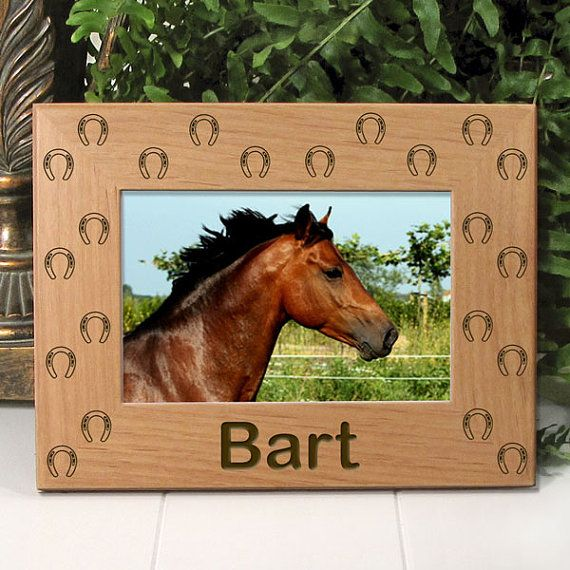 Sympathy Gifts For Horse Lovers by etchedinmyheart1 on Etsy, $21.95 | Sympathy Gifts & Comforting Thoughts | Gifts for horse lovers, Horse gifts, ...