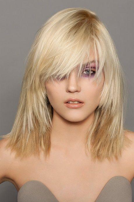 Stufenschnitt mittellang dünne haare